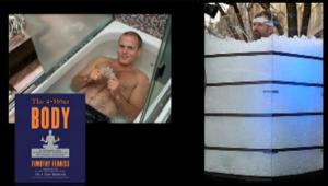 Tim Ferriss e il ghiaccio