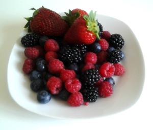 frutti di bosco a